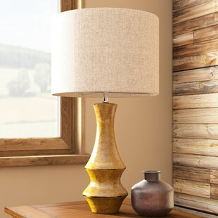 Cabin lodge table lamps youll love wayfair germain 295 table lamp mozeypictures Image collections