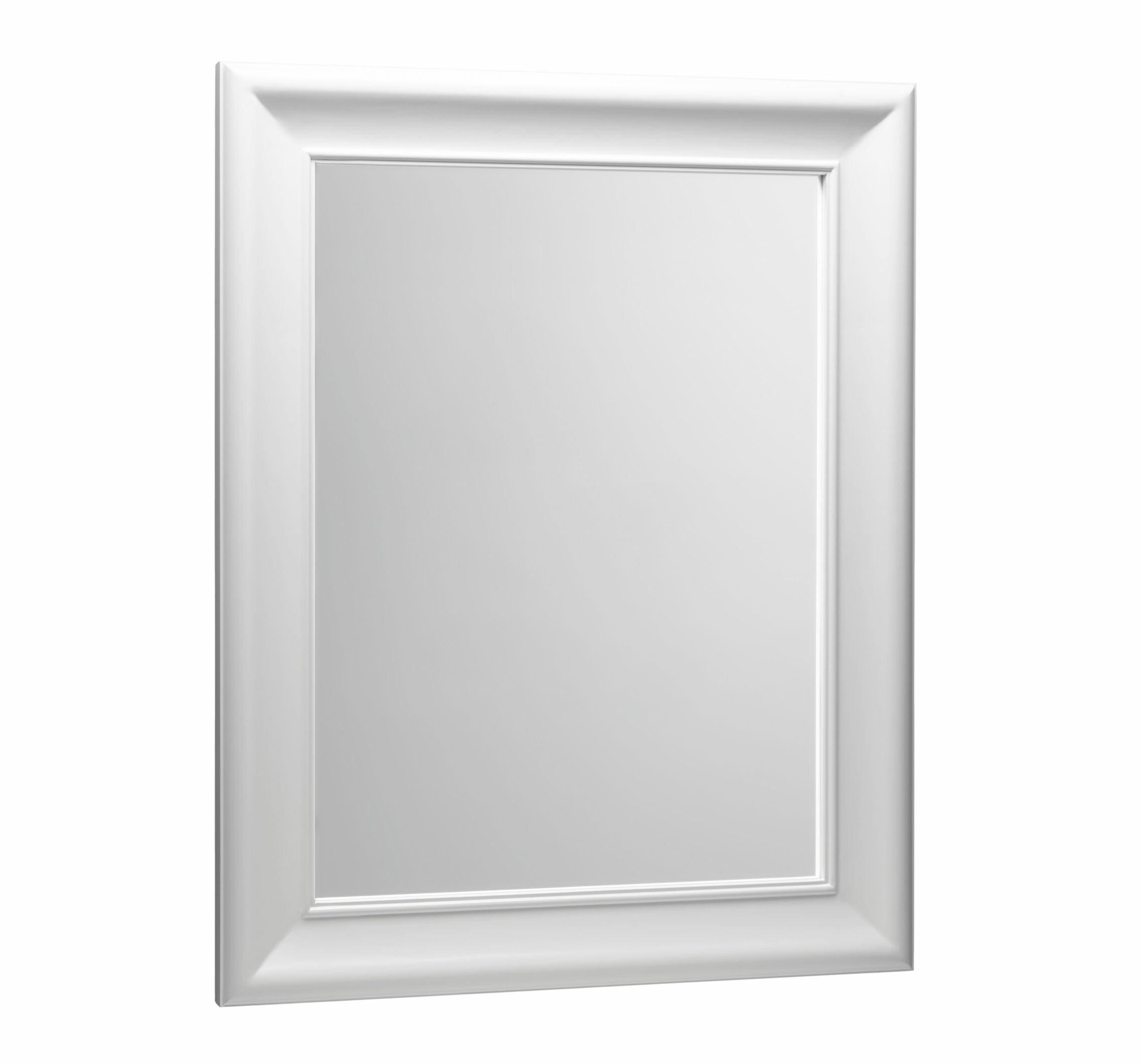 Ronbow Traditional 29 X 37 Solid Wood Framed Bathroom Mirror In Cream Perigold