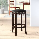 Henryville Bar & Counter Swivel Stool by Charlton Home®