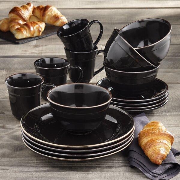 Lucienne 16 Piece Dinnerware Set Service For 4 Reviews Joss Main