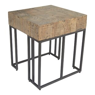 Lilly End Table by 17 Stories