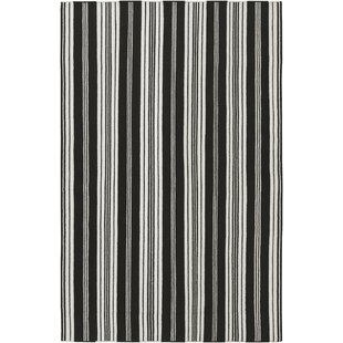 Compare & Buy Farmhouse Stripes Hand-Woven Black/Gray Area Rug By Country Living™ by Surya