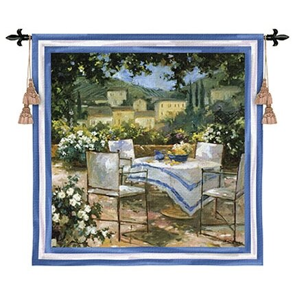 Fleur De Lis Living Tuscany Terrace Tapestry Wayfair