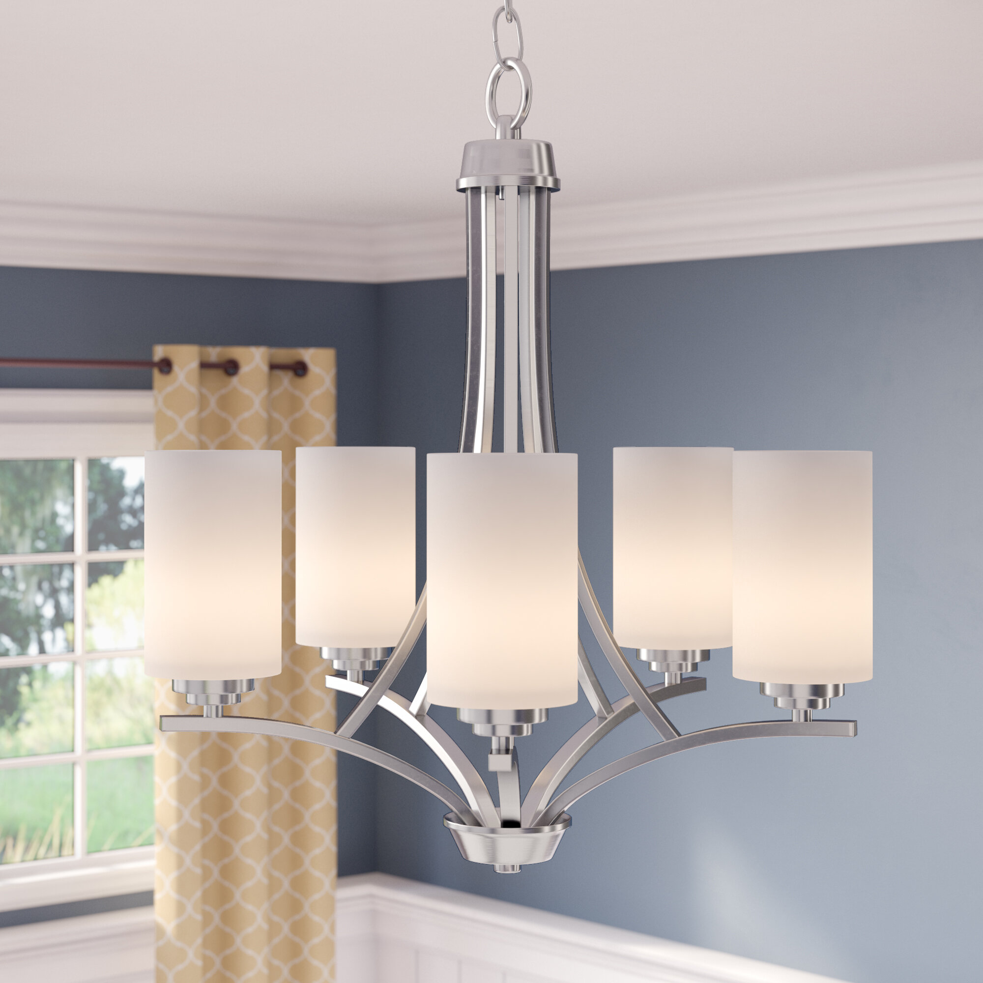 Suki 5 Light Candle Style Empire Chandelier