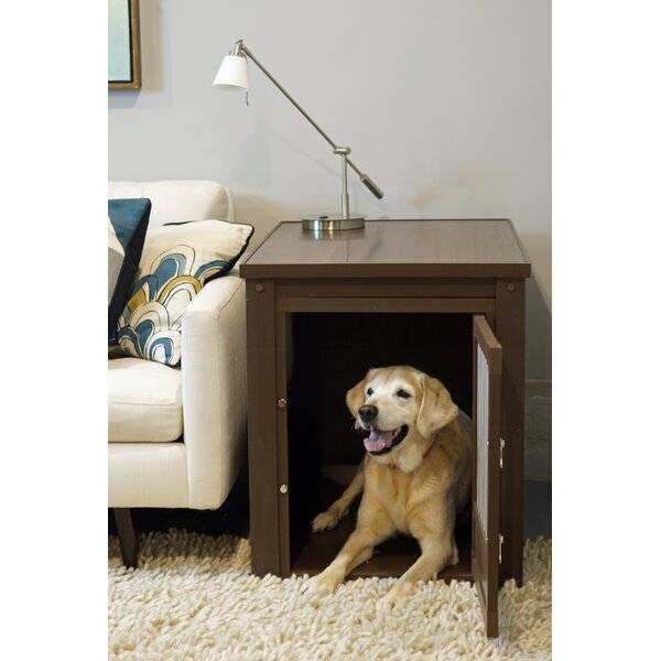 Good New Age Pet New Age Pet Crate End Table U0026 Reviews | Wayfair