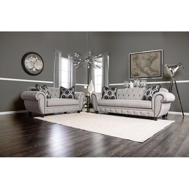 Brenda 2 Piece Living Room Set