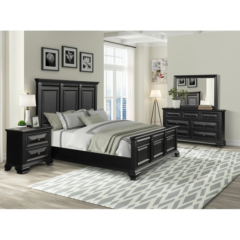 charlton home® stevison solid wood standard configurable