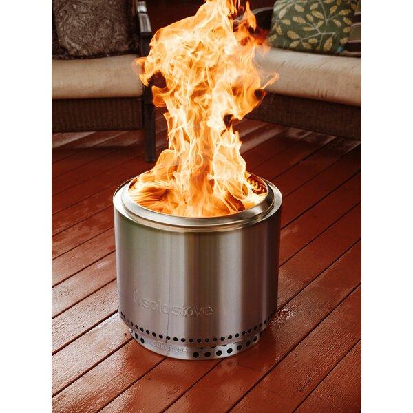 Solo Stove Bonfire Bundle Stainless Steel Wood Burning ...
