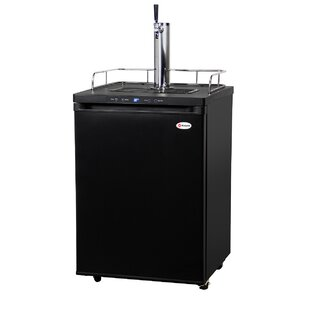 Single Tap Full Size Kegerator by Kegco