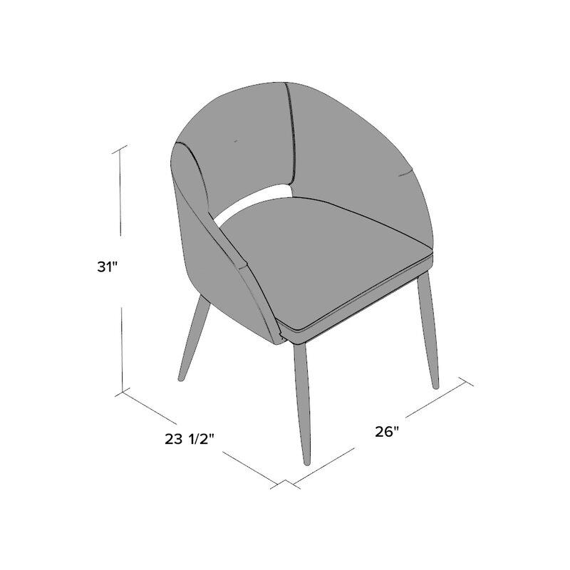 Evanston Upholstered Arm Chair