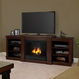 Hawthorne TV Stand for TVs up to 70 with Fireplace by Real Flame