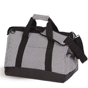 Houndstooth Haversack Cooler Picnic Tote Bag