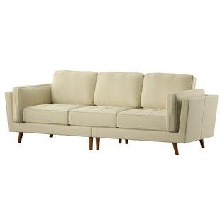 Marrufo Leather Sofa