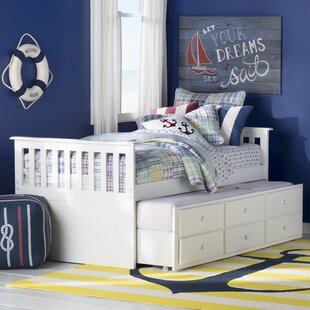 Rosina Twin Captain Bed with Storage by Simmons Casegoods by Beachcrest Home