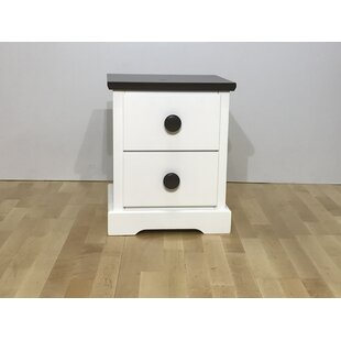 Kentwood 2 Drawer Bedside Table by GIE