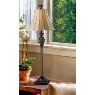 Damon 32 Desk Lamp by Fleur De Lis Living