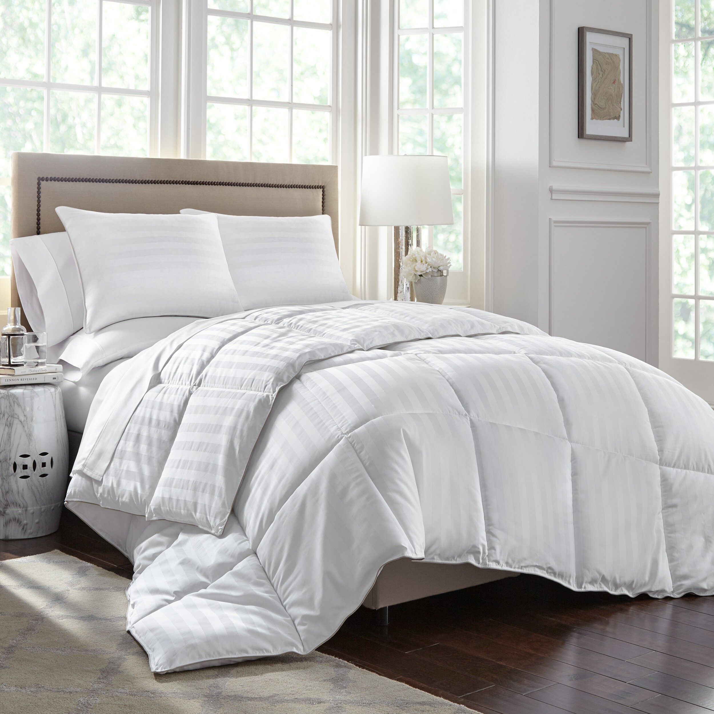 Stearns Foster Primacool All Season Down Alternative Comforter Reviews Wayfair