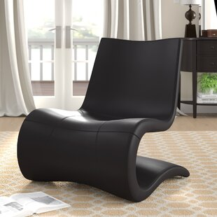Flow Eco Leather Lounge Chair by B&T Design