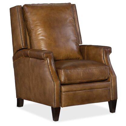 Collin Leather Recliner. Hooker Furniture