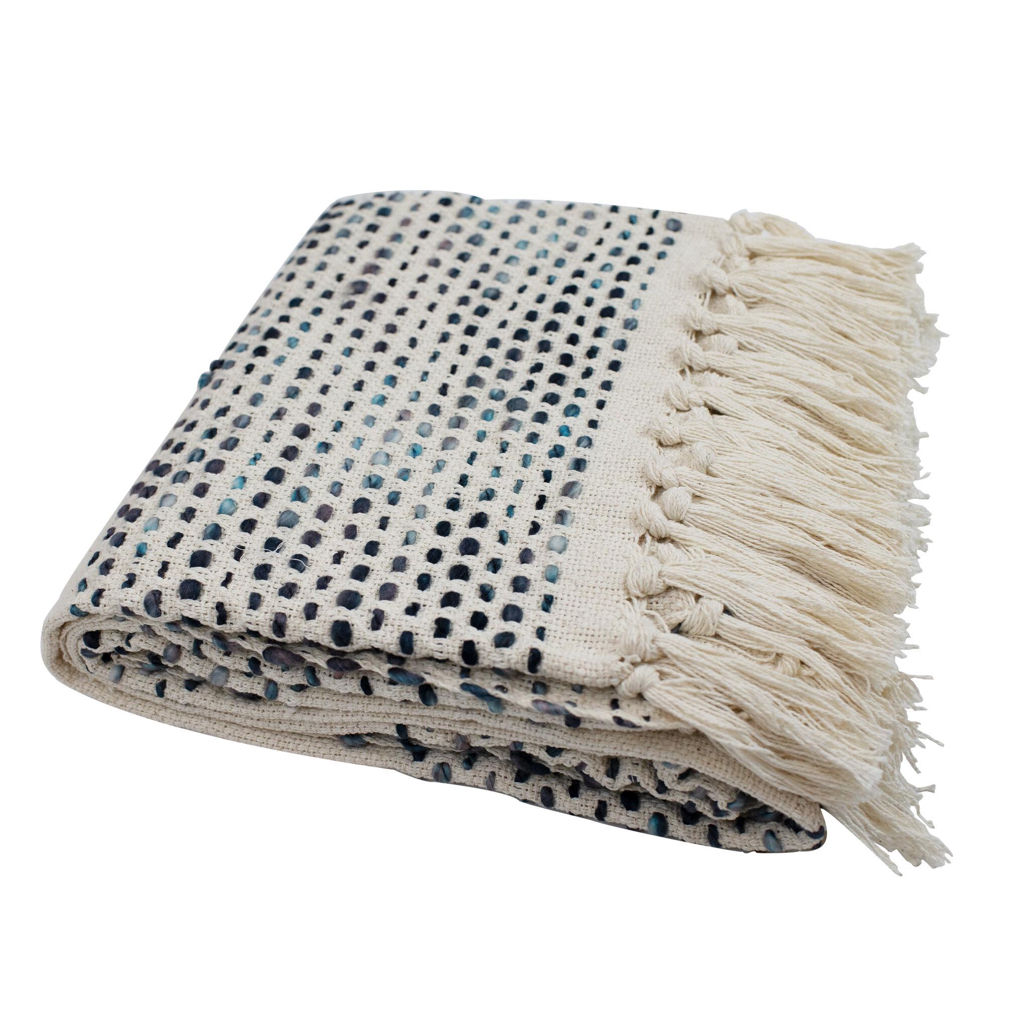 Polka Dot Woven Blankets Throws You Ll Love In 2021 Wayfair