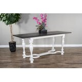 Torney Counter Height Solid Wood Dining Table by One Allium Way®