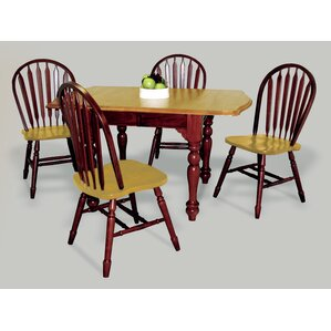 Banksville 5 Piece Dining Set by Loon Peak