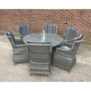 Southwell 6 Seat Dining Set With Cushions