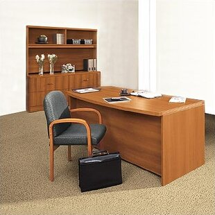 Correlation 3-Piece Desk Office Suite by Global Total Office Amazing