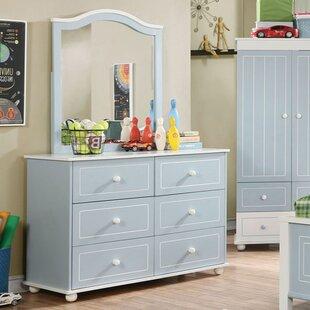 Marano 6 Drawer Double Dresser ByAndrew Home Studio