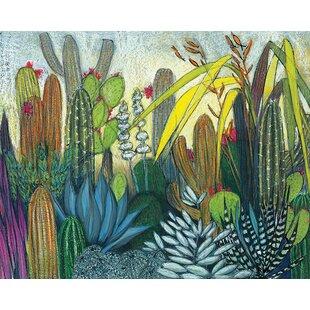 Succulents Canvas Wall Art