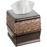 Poulan Square Tissue Box Cover