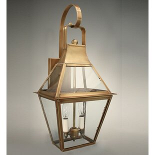 Bargain Uxbridge 2-Light Outdoor Wall Lantern By Northeast Lantern