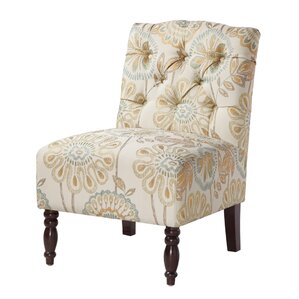 Roland Tufted Slipper Chair by Charlton Home
