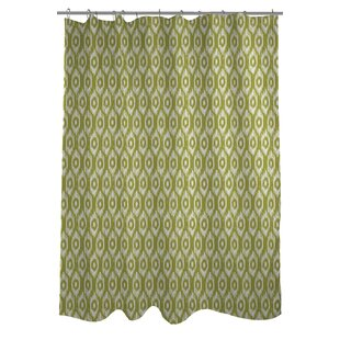 Kelly Ikat Single Shower Curtain