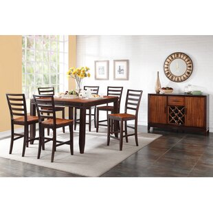 Lannon Contemporary Solid Wood Dining Table by Alcott Hill Best