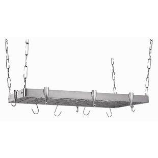 Stainless Steel Rectangular Pot Rack