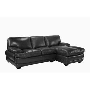 Delphine Leather Sectional