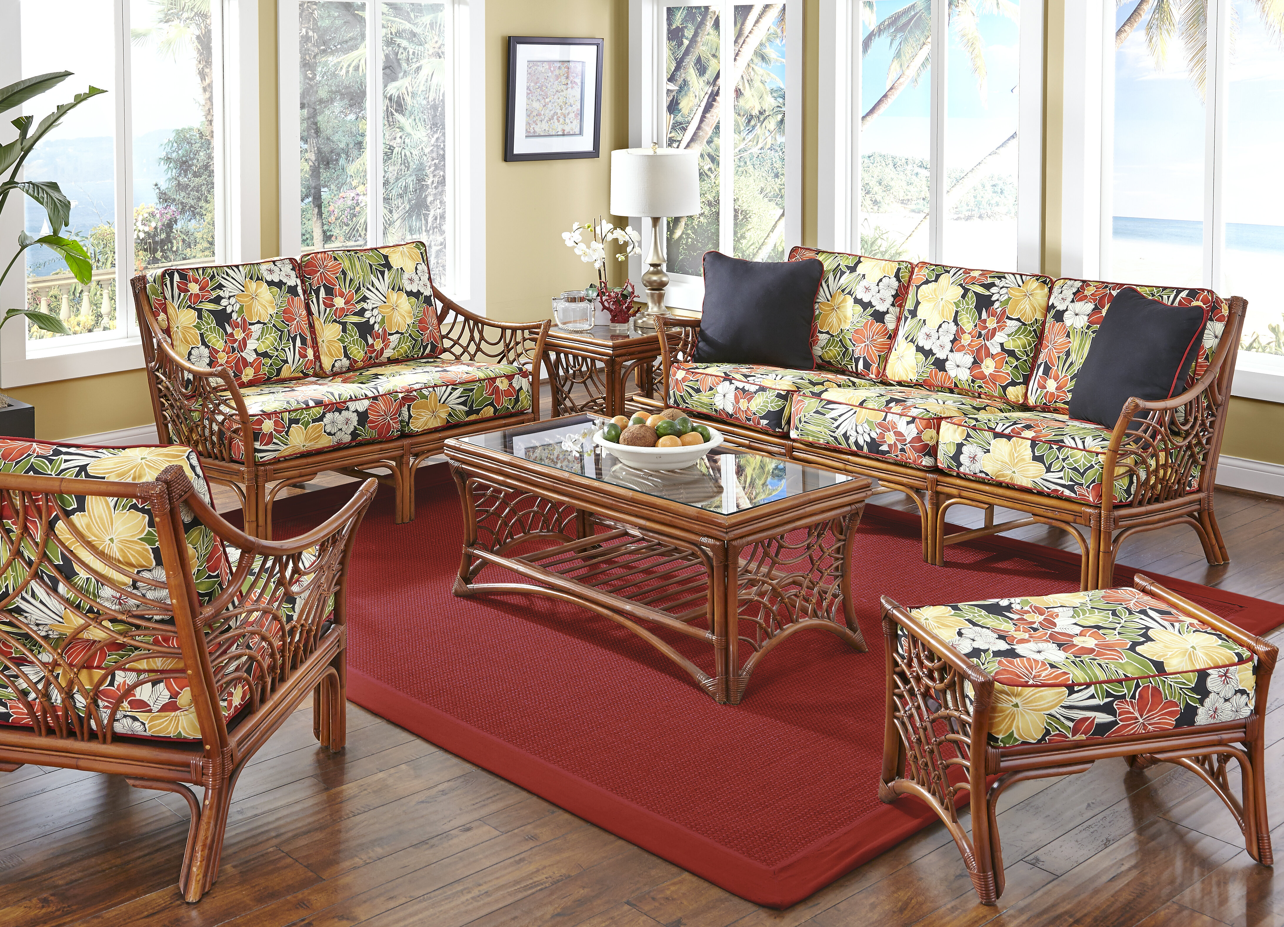 Tropical Living Room Sets You\'ll Love in 2019 | Wayfair