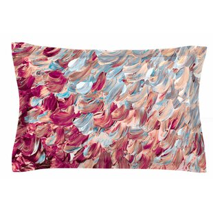 Ebi Emporium 'Frosted Feathers' Painting Sham