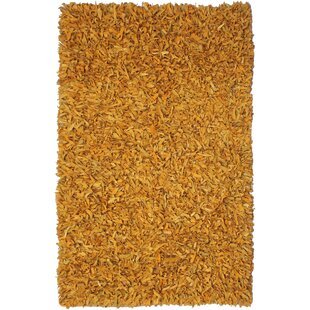 Baum Leather Gold Area Rug