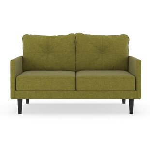Shop Cowan Cross Weave Loveseat by Corrigan Studio