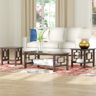 Carewe 3 Piece Coffee Table Set Red Barrel Studio
