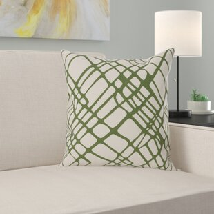 Lessing 100% Cotton Throw Pillow Cover