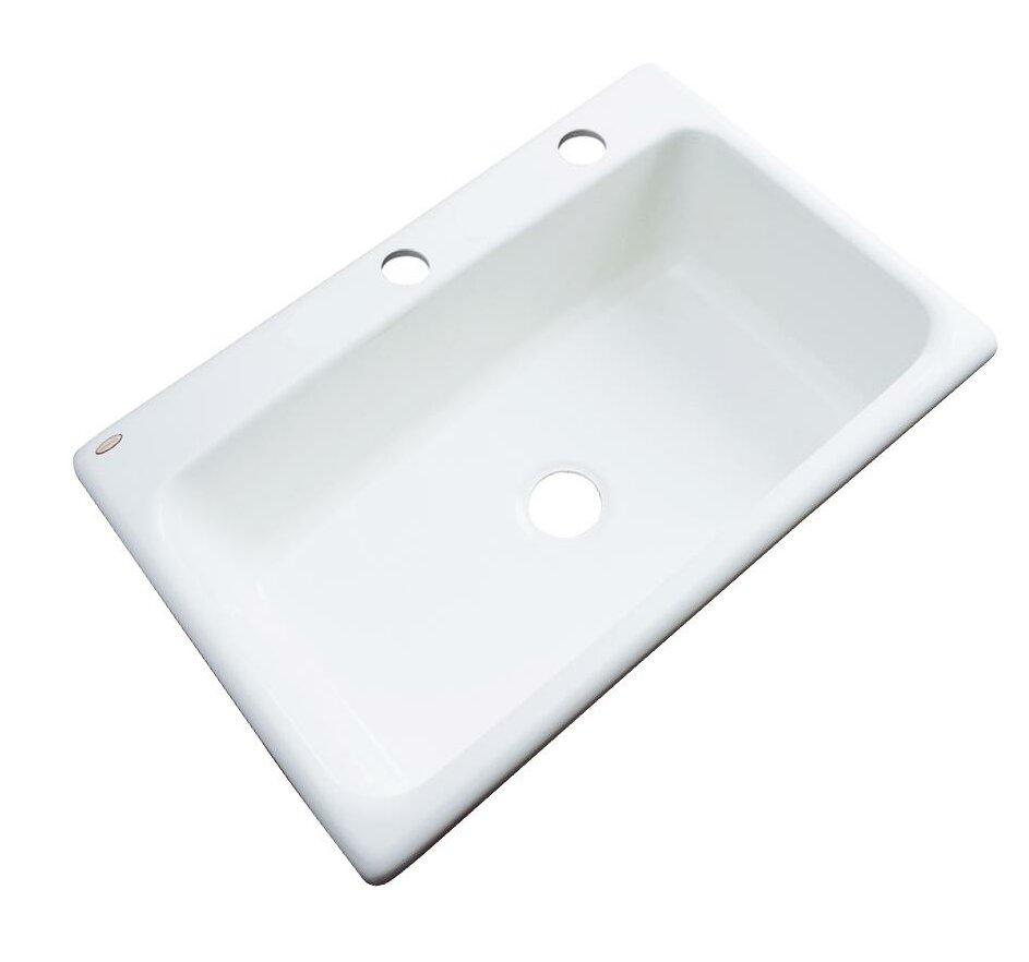 Wilmington 33 L X 22 W Kitchen Sink Reviews Allmodern