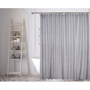 Hillpoint Single Shower Curtain by Wrought Studio Best #1