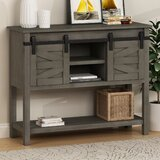 Evonna 40 Solid Wood Console Table by Gracie Oaks