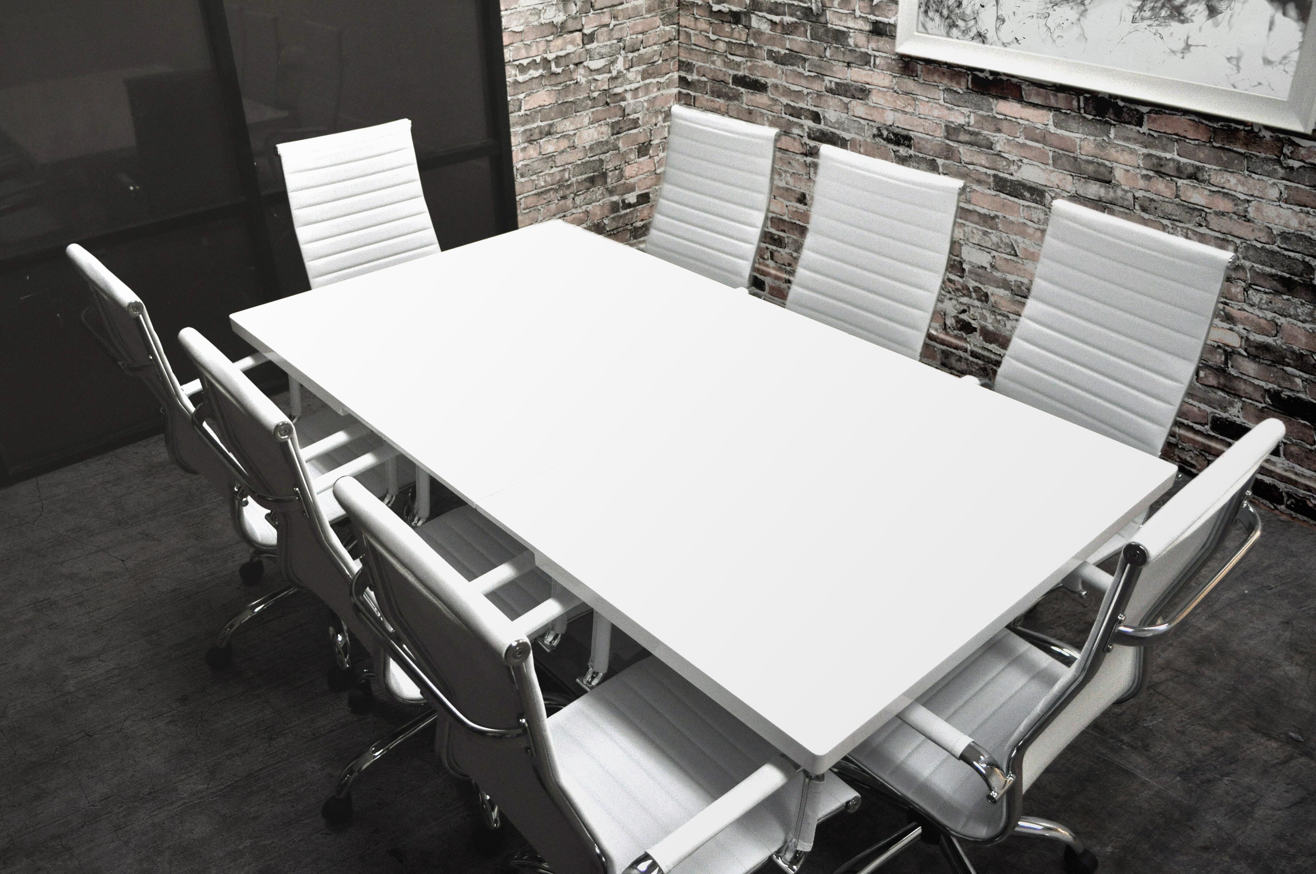 & SolisPatio Lucidum 9 Piece 6u0027 Rectangular Conference Table Set | Wayfair