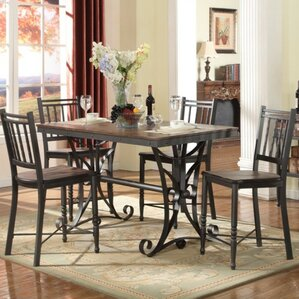 Alicia Pub Table by Fleur De Lis Living