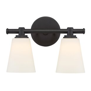 Affordable Parker 2-Light Vanity Light By Designers Fountain