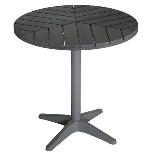 Patrece Round Metal Bistro Table